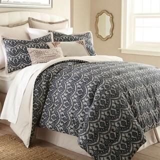 Sasha Blue Geometric 8-piece Comforter Set