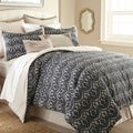 Sasha Blue Geometric 8-piece Comforter Set