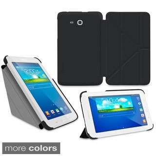 rooCASE Slim Shell Origami Folio Case Cover for Samsung Galaxy Tab 3 7.0 Lite
