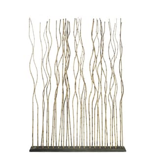 Bamboo and Teak Room Divider (Indonesia)
