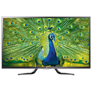 LG 50-inch Cinema 3D 1080p 120 hz LED TV with Smart and Google TV with 2-pairs of 3D Glasses (Refurbished)