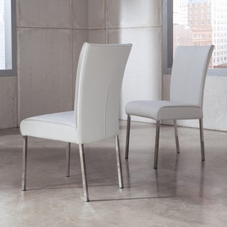 Signature Design by Ashely Baraga White Dining Side Chairs (Set of 2)