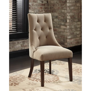Signature Design by Ashley Mestler Light Brown Dining Chair (set of 2)