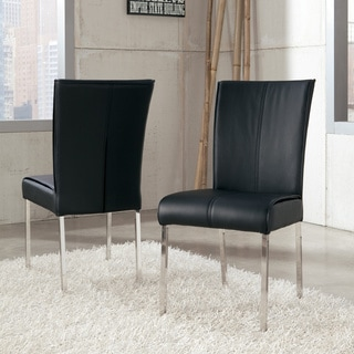 Signature Design by Ashley Baraga Black Upholstered Dining Side Chairs (Set of 2)
