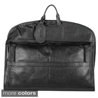 Bugatti Leather Garment Bag