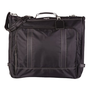 Bugatti Black Nylon Garment Bag