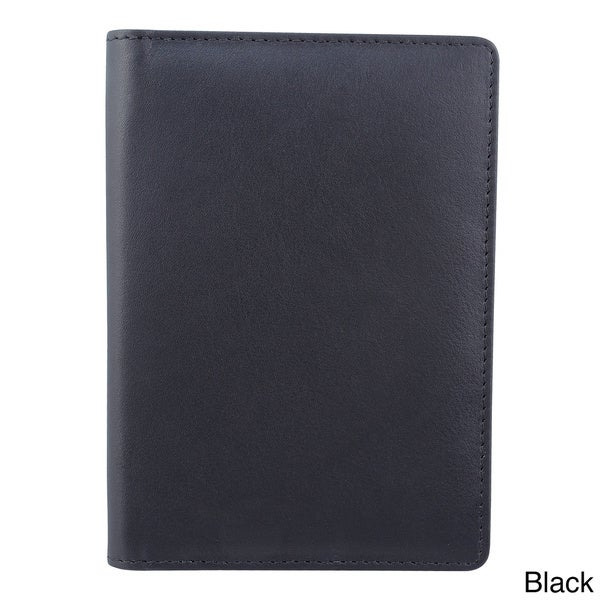 Bugatti Identity Block Leather Passport Cover