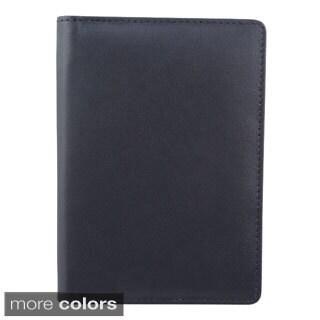 Bugatti Identity Block Leather Passport Cover
