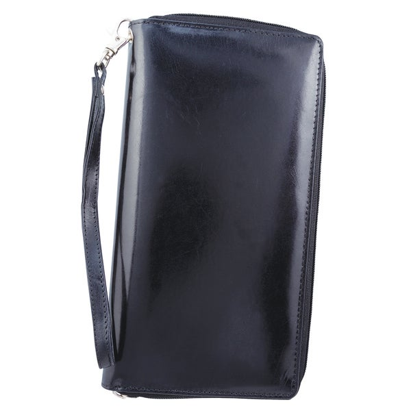 Bugatti Identity Block Zip Around Travel Organizer