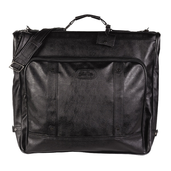 Bugatti Black Zippered Garment Bag