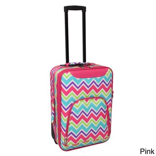 World Traveler Lightweight 20-inch Chevron Premier Carry-on Upright