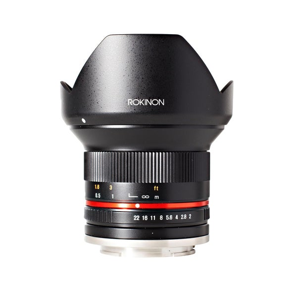 Rokinon 12mm F2.0 NCS CS Ultra Wide Angle Lens