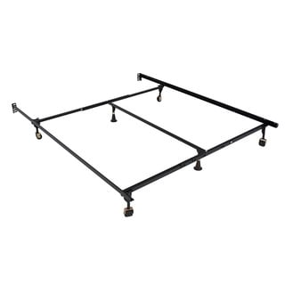 Hollywood Atlas-lock Keyhole Queen / California King / Eastern King Bed Frame with Wheels