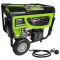 review detail 7500-Watt Propane (LPG) and Gasoline Generator with Electric Start and Battery