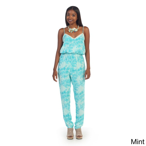 Hadari Women's Tie-dye One-piece Jumpsuit