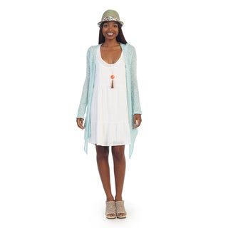 Hadari Womens Open Long Sleeve Cardigan