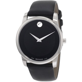 Movado Men's 0606502 Black Museum Watch