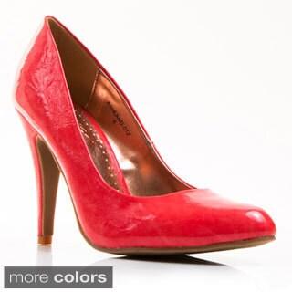Gomax Women's 'Ashland 01Z' Patent Pointed-toe Pumps