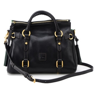 Dooney & Bourke Flourentine Mini Black Leather Satchel