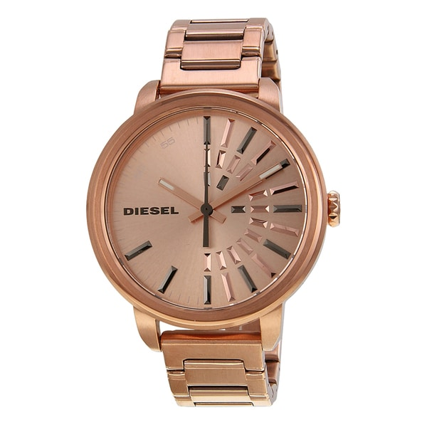 Diesel Women's DZ5418 Flare Rosetone Watch