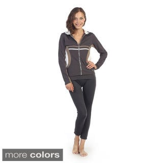Hadari Women's Collared Active Jacket