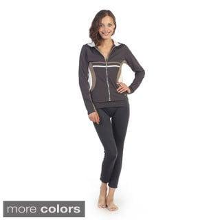 Hadari Women's Collared Active Jacket