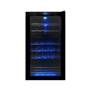 Vinotemp 24 Bottle Dual-Zone Touch Screen Wine Cooler