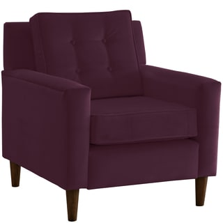 Made to Order Purple Arm Chair