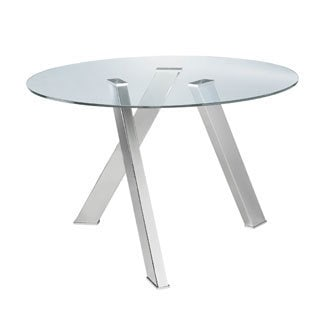 Sunpan Manhattan Round Dining Table