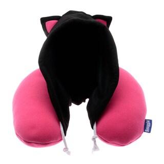 Snuggie Cat Kids' Hoodie Travel Neck Pillow