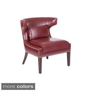 Sunpan Napolitana Bonded Leather Chair