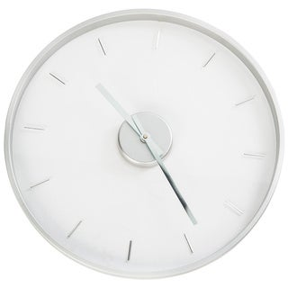 Louise Ghost Mid-century Clear kartell Lucite Wall Clock