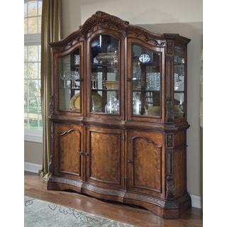 Signature Design by Ashley Ledelle Dining Room China Cabinet