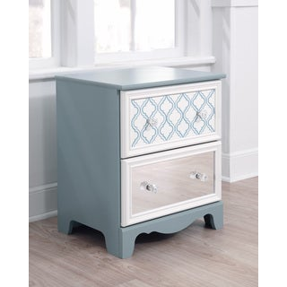 Signature Design by Ashley Mivara 2-drawer Reversible Panel Night Stand