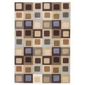 Signature Designs by Ashley Sloane Blue/ Multi Geometric Area Rug (5' x 7')