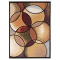 Signature Designs by Ashley Radial Abstract Geometric Rug (5' x 7')