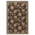 Signature Design by Ashley Charlotte Brown Traditional Floral Area Rug