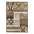 Signature Designs by Ashley Tribal Quilted Charcoal Rug (5' x 7')