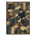 Signature Designs by Ashley Calder Sepia Geometric Rug (5'2 x 7'2)