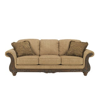 Signature Designs by Ashley 'Cambridge' Traditional Amber Sofa