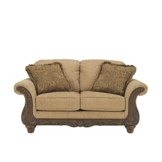 Signature Designs by Ashley 'Cambridge' Traditional Amber Loveseat