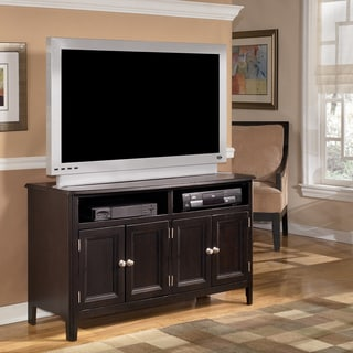Signature Designs by Ashley 'Carlyle' Espresso Medium TV Stand