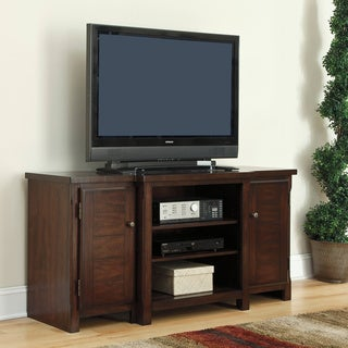 Signature Designs by Ashley 'Hindell Park' Dark Brown Large TV Stand
