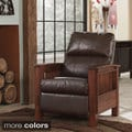 Signature Design by Ashley Santa Fe Leatherette High Leg Recliner