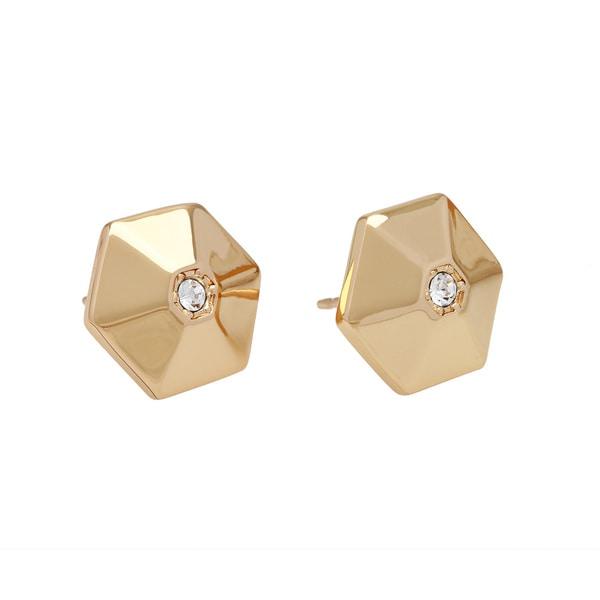 kate spade 'Asteroid Stones' 14K Gold Plated Stud Earrings
