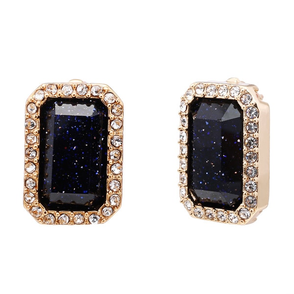 kate spade 'Night Sky Jewels' Emerald-cut Stud Earrings