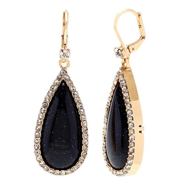 kate spade 'Night Sky Jewels' Navy Blue Teardrop Earrings