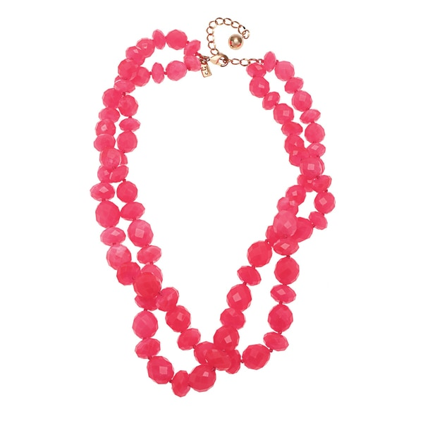 kate spade Geranium Twisted Necklace