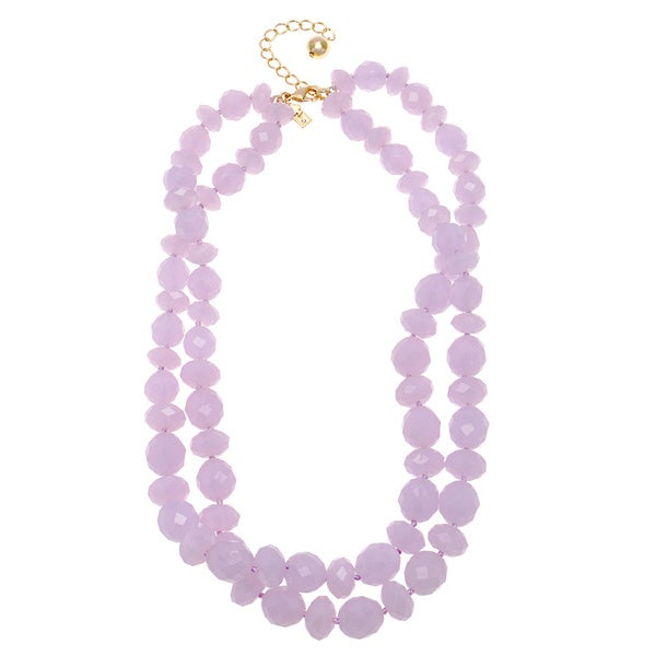 kate spade Lilac Twisted Necklace
