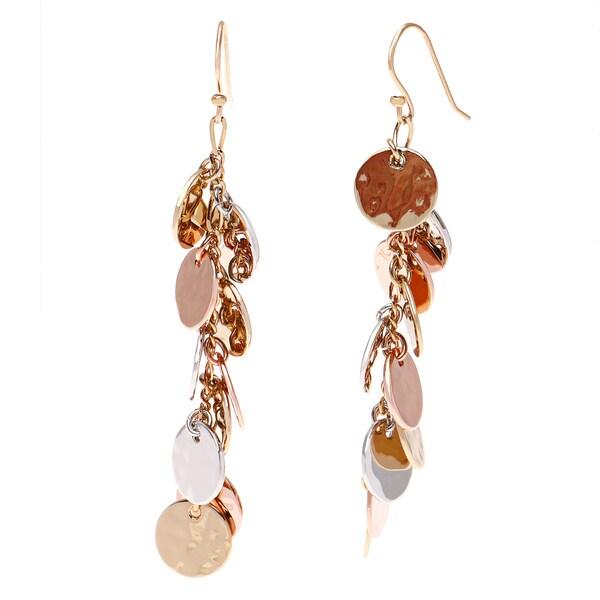 Kate Spade Multi-color Metal Charm Dangle Earrings